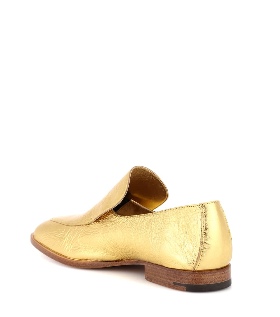 Dries Van Noten Loafers aus Leder