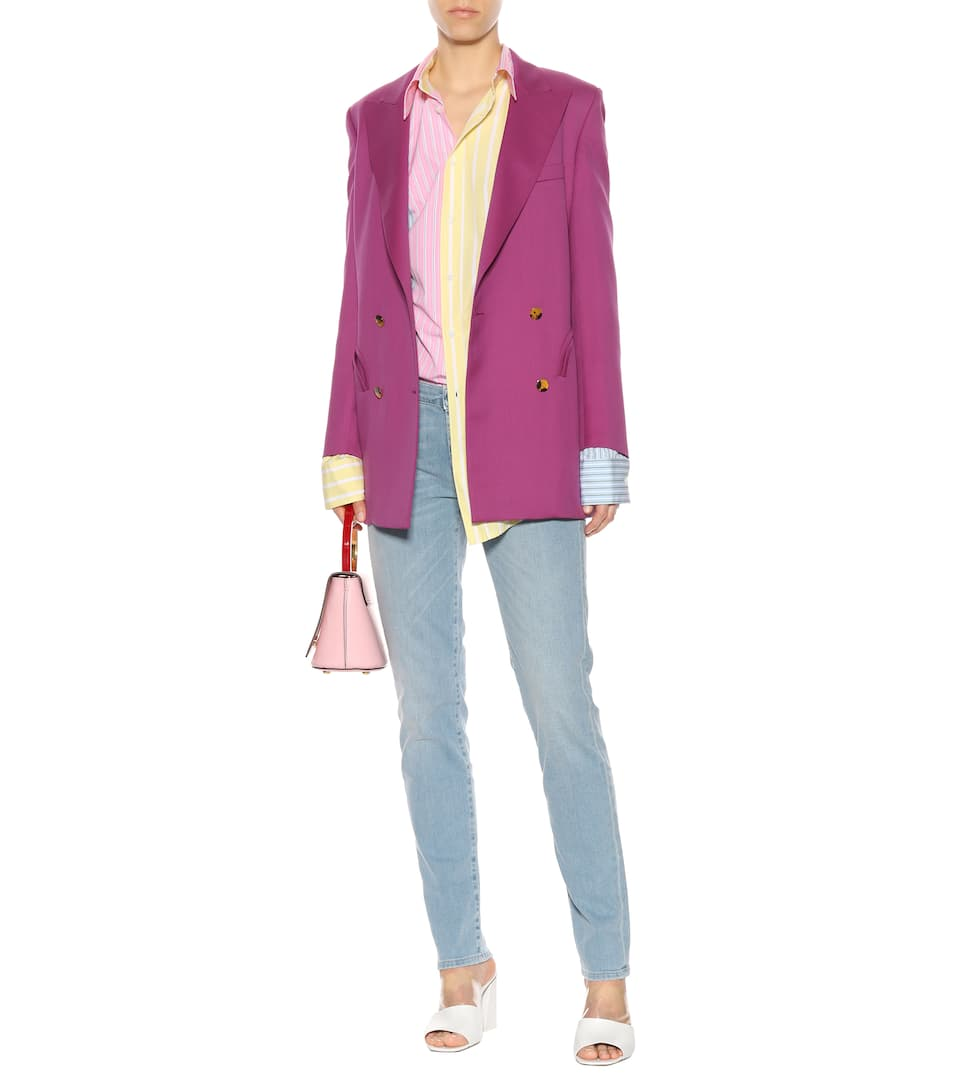 Marni Gestreiftes Oversize-Hemd aus Baumwolle