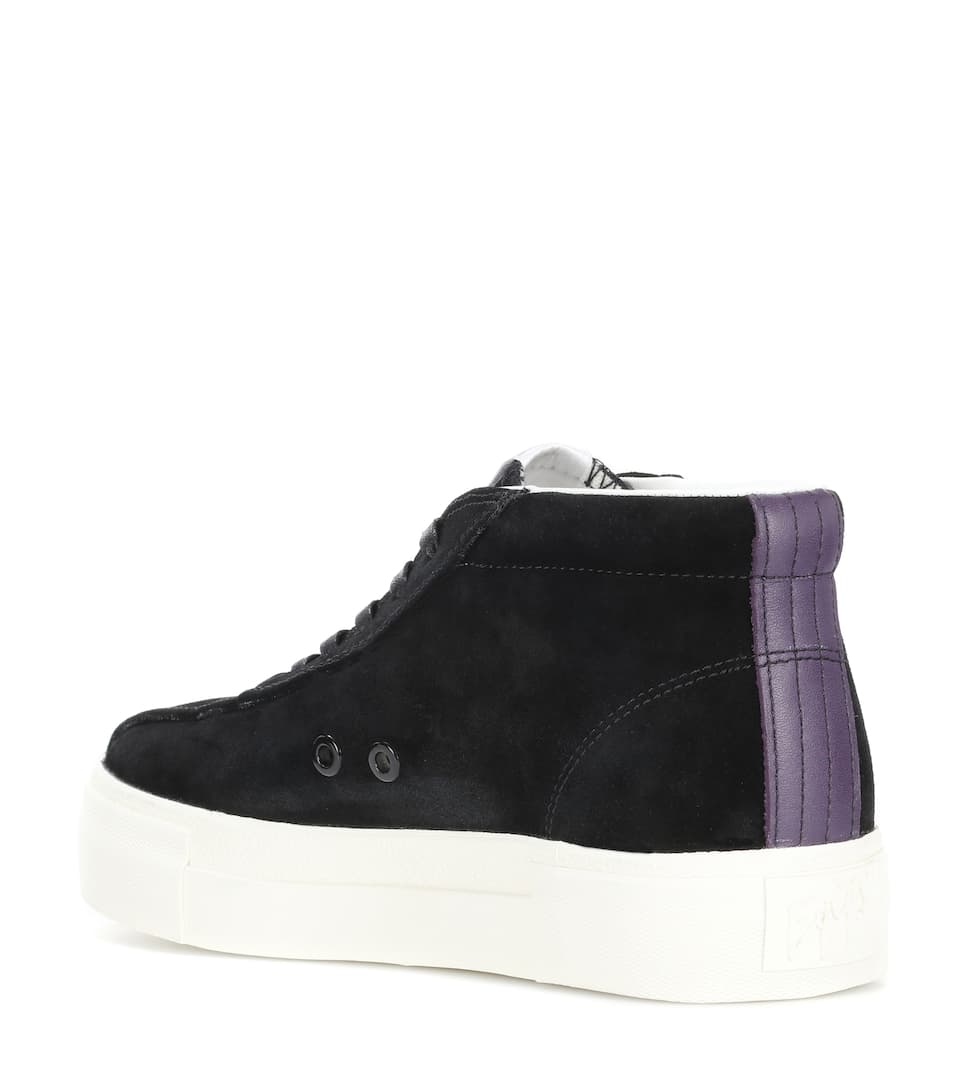High-Top Sneakers Mother aus Veloursleder Eytys Oxt3eG2S