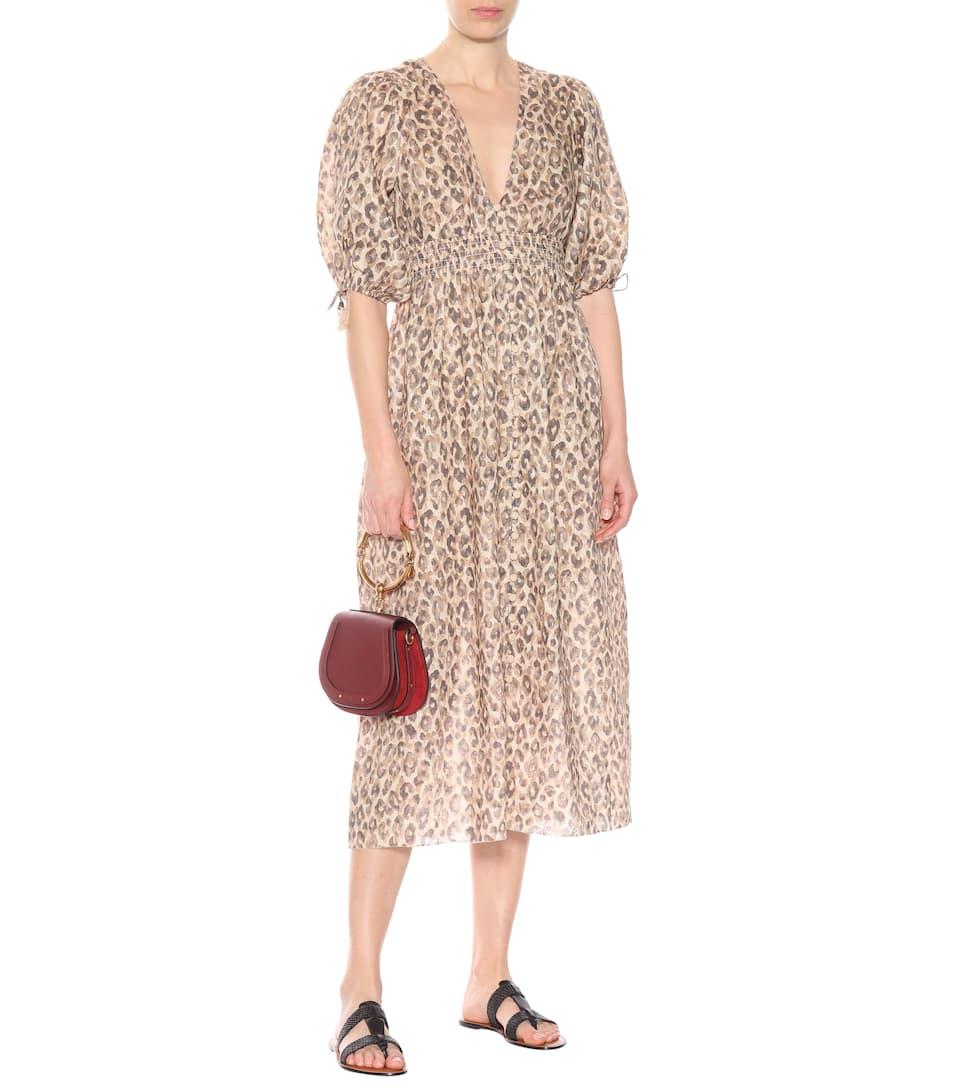 Melody Linen Dress - Zimmermann  09d708efa