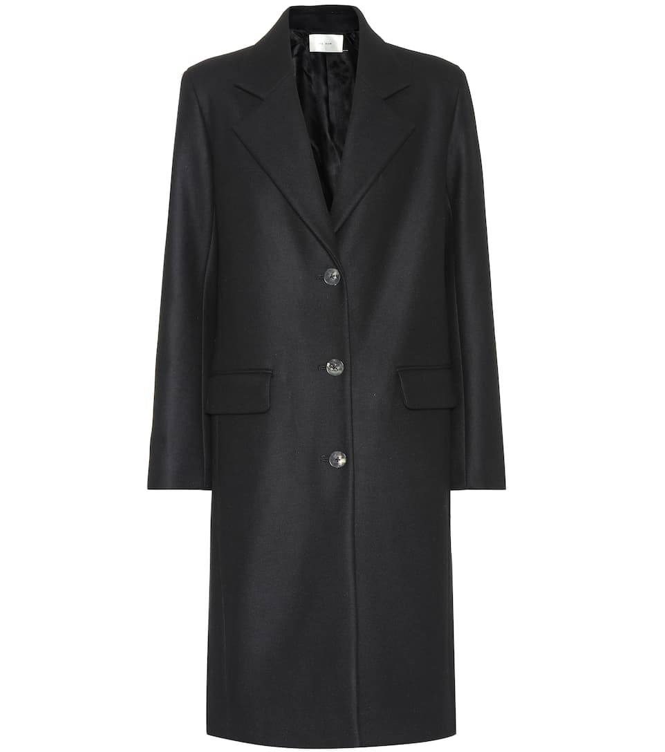 Teymon Wool Blend Coat by The Row