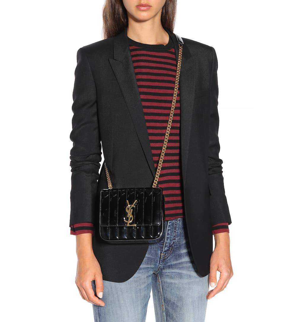 485640ea989 Vicky Small Patent Leather Shoulder Bag - Saint Laurent | mytheresa.com