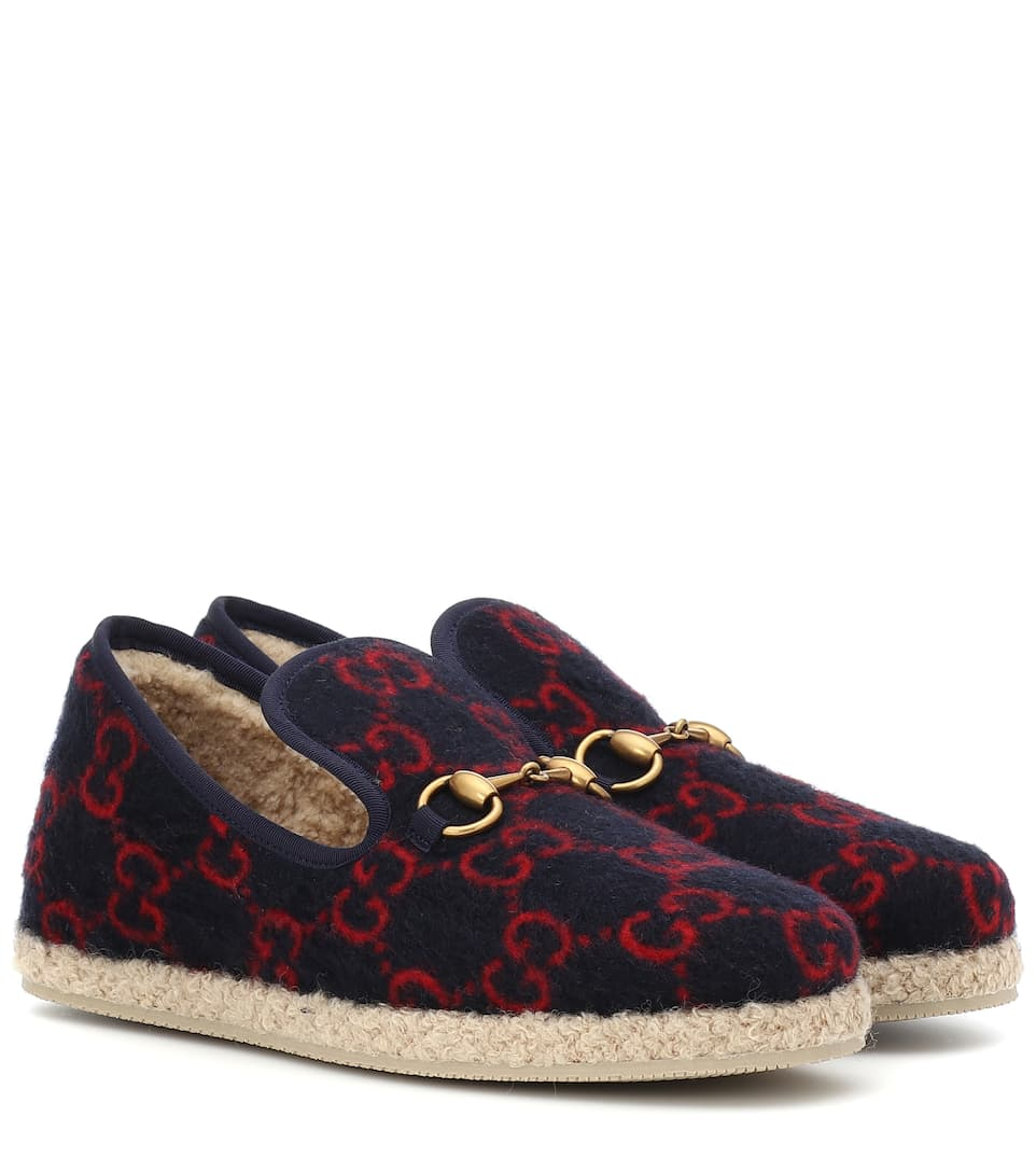 gucci baby loafers