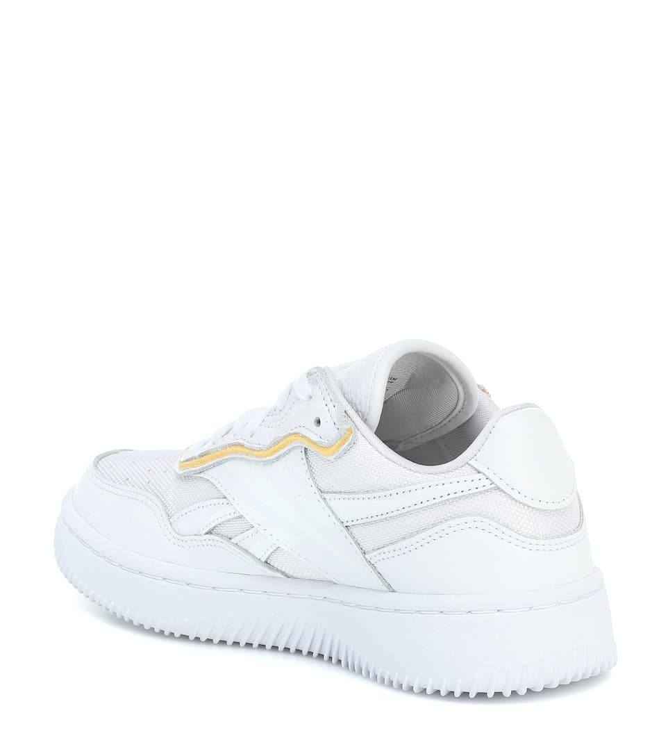 Dual Court Leather Sneakers Reebok x Victoria Beckham