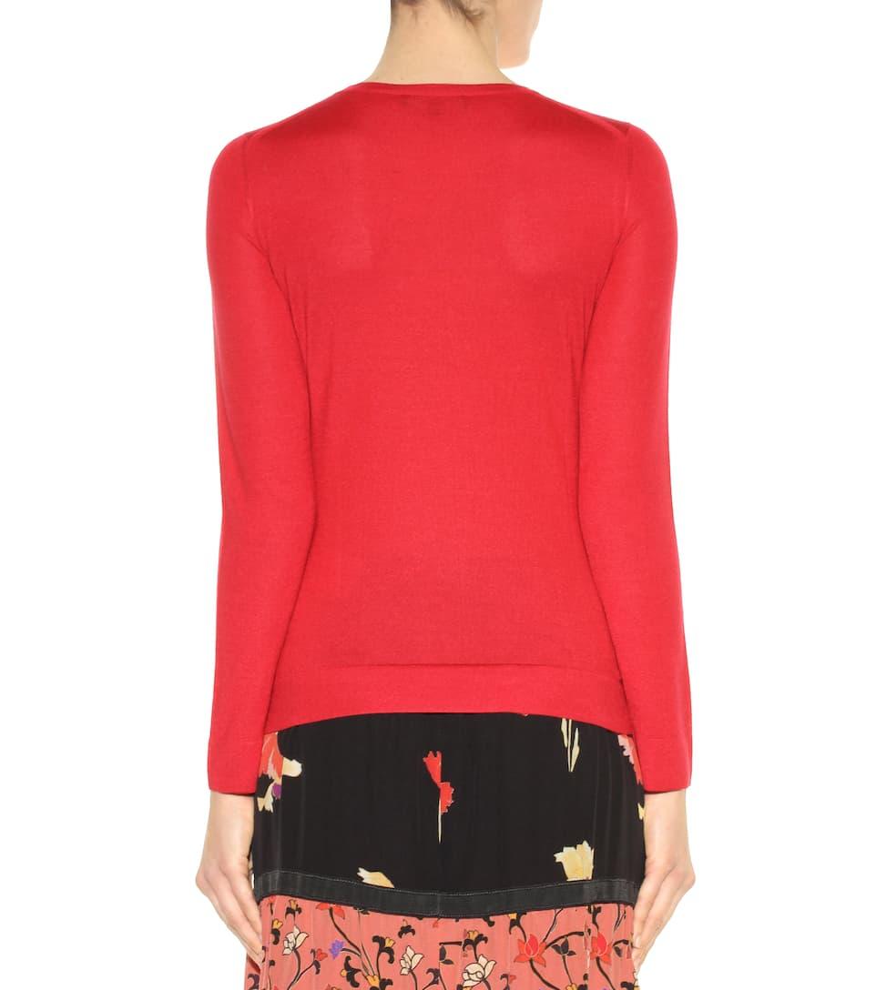 Salvatore Ferragamo - Cashmere and silk sweater - mytheresa.com