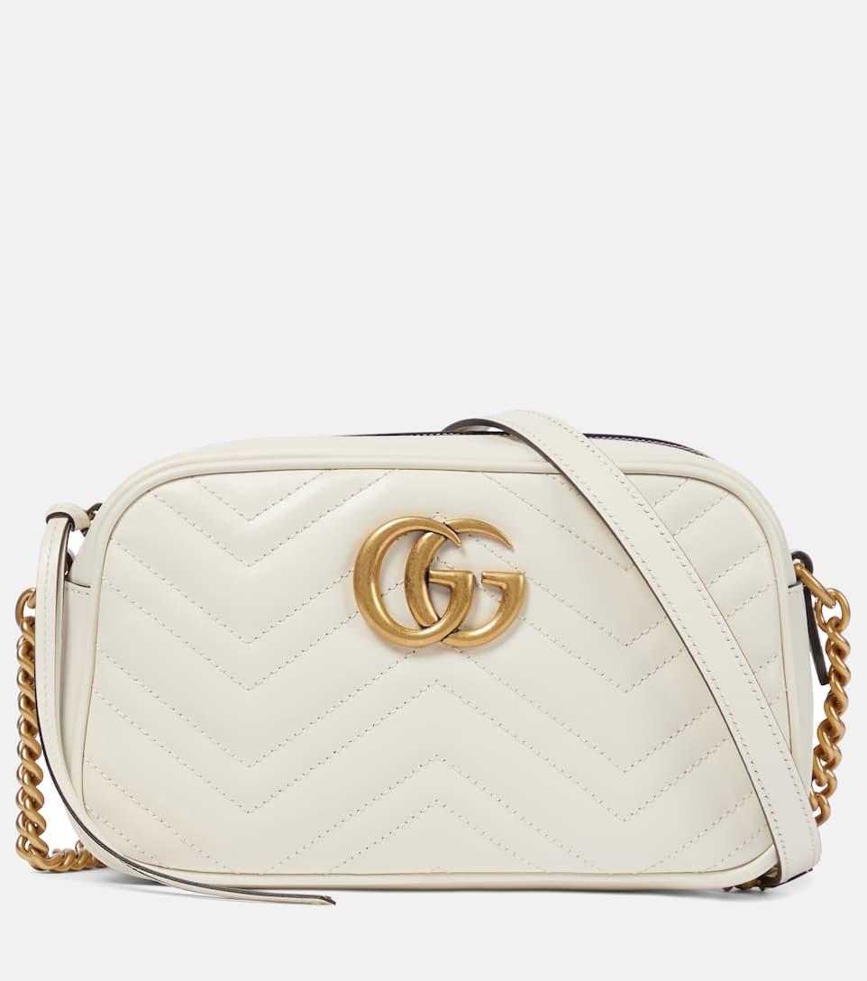 50e4f686 Gg Marmont Leather Crossbody Bag - Gucci | mytheresa.com