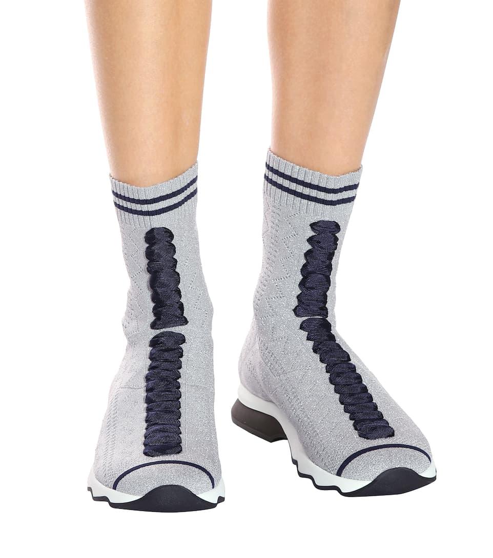 Fendi High-Top-Sneakers