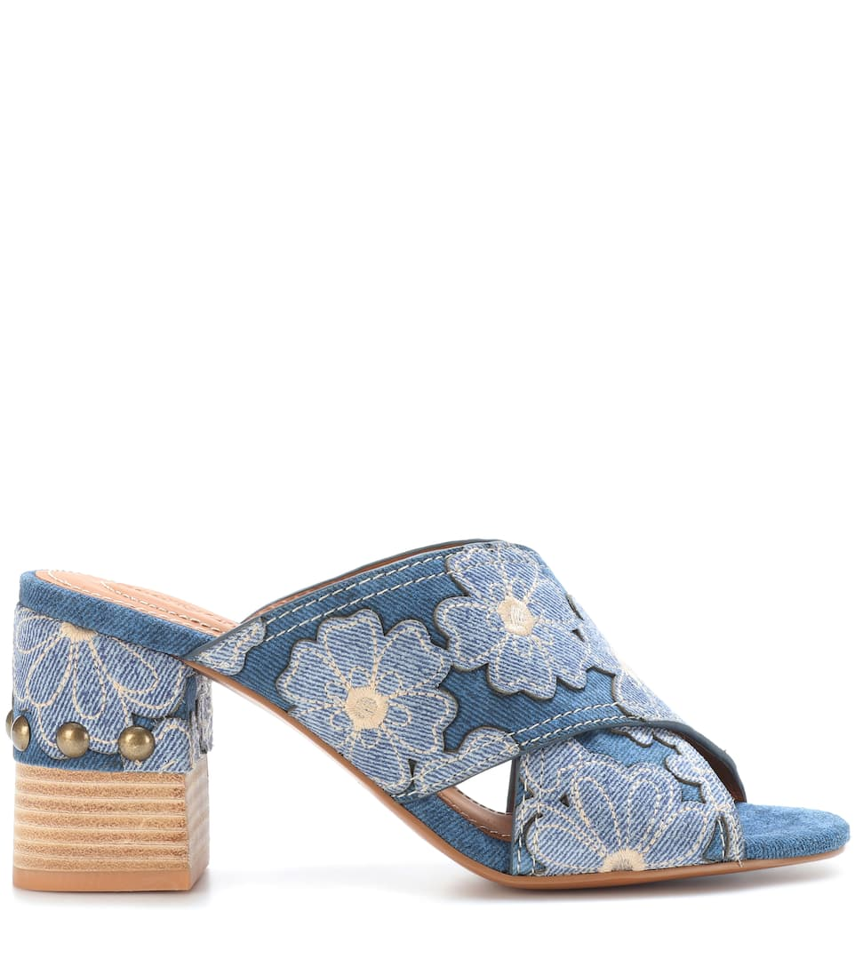 See By Chloé Mules mit Denim