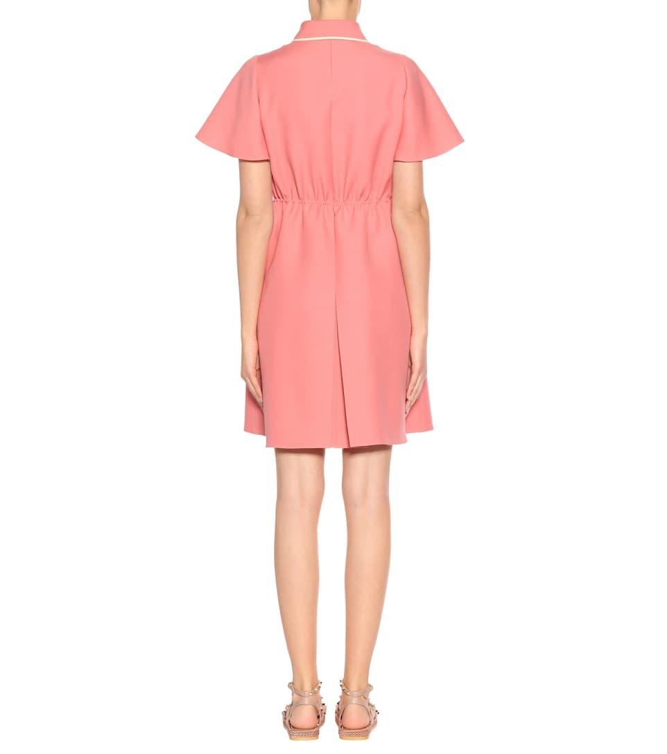 Valentino Minikleid aus Wolle und Seide
