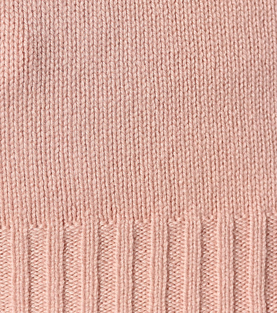 Loro Piana Cashmere turtleneck sweater Pale Pink Free Shipping Geniue Stockist Free Shipping Huge Surprise Best Seller Cheap Best Prices Discount Purchase PTkkvecXz