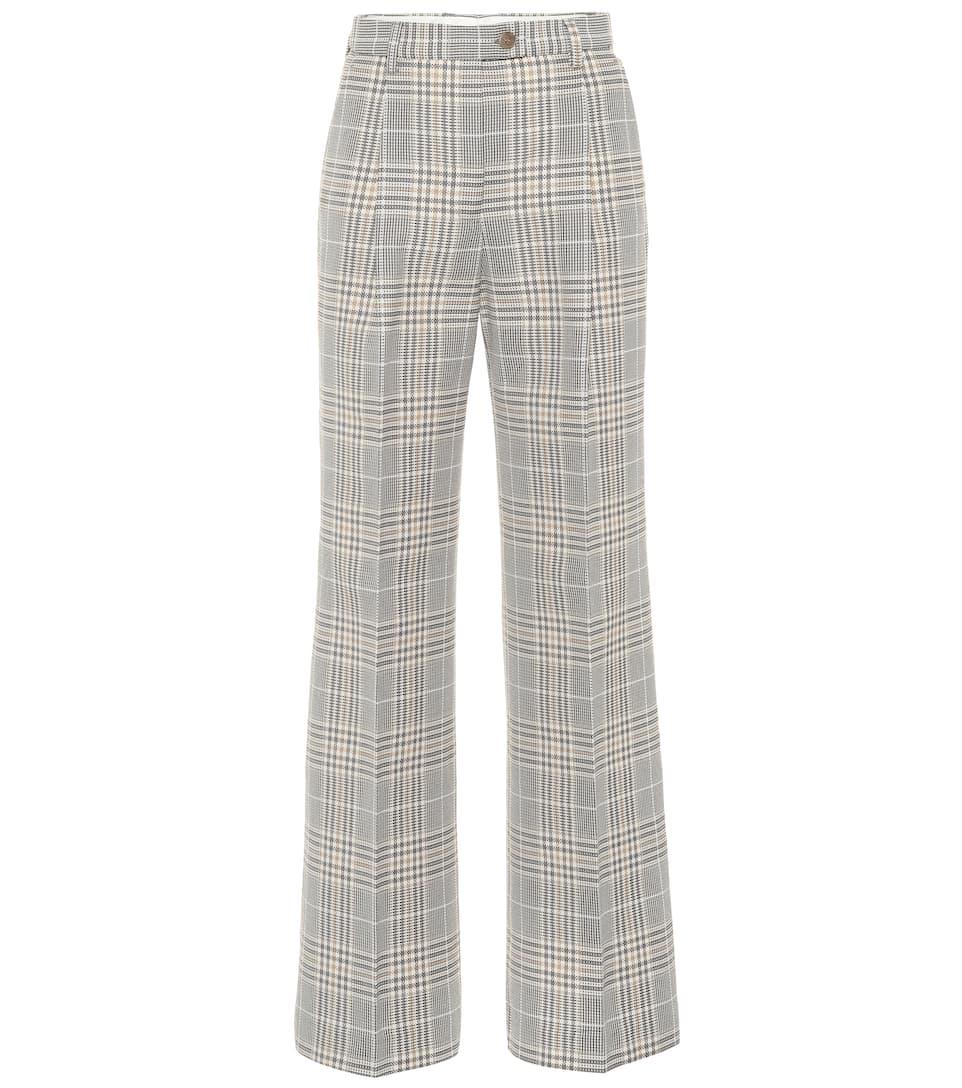 f1785879ce6887 Cotton-Blend Wide-Legged Pants - Acne Studios | mytheresa