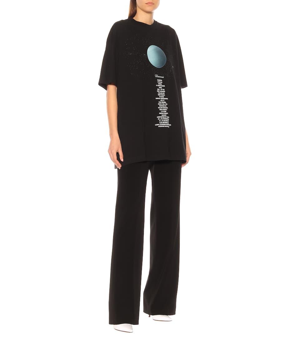 Coton T Oversize Vetements Imprimé shirt En UMSpzV