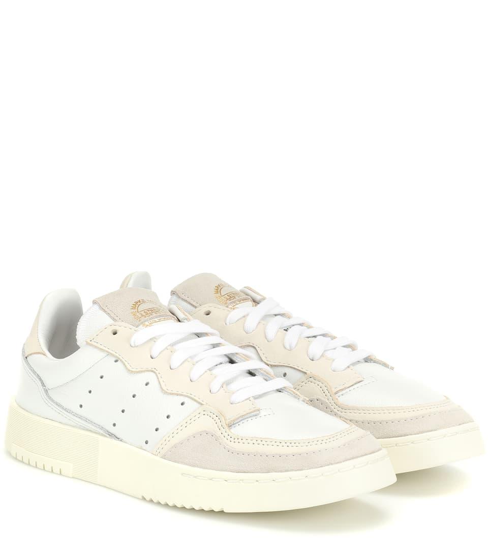 Sneakers Supercourt in pelle