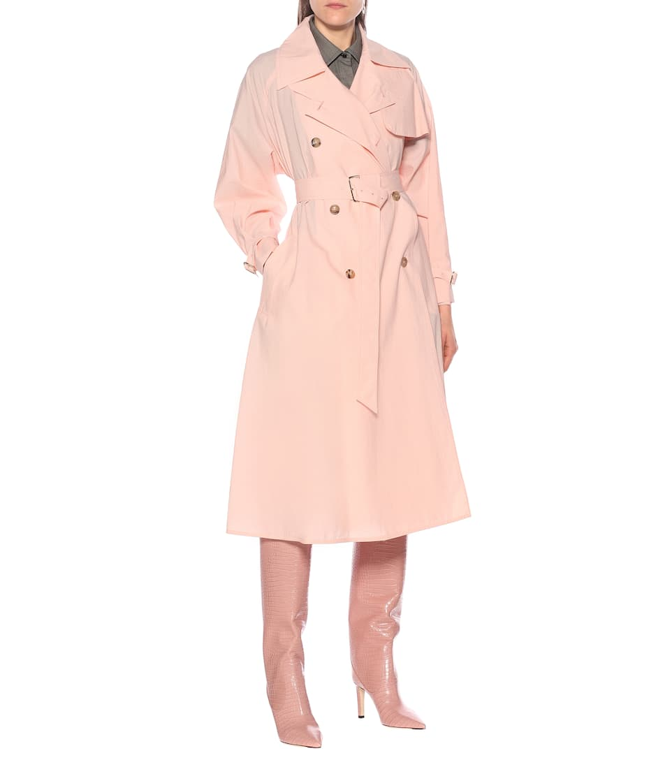 Max Mara - Falster cotton-blend trench coat