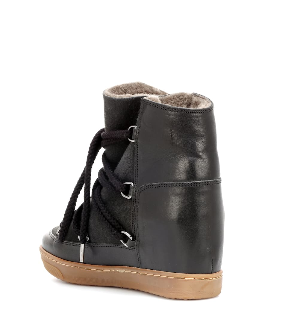 Isabel Marant Ankle Boots Nowles aus Leder
