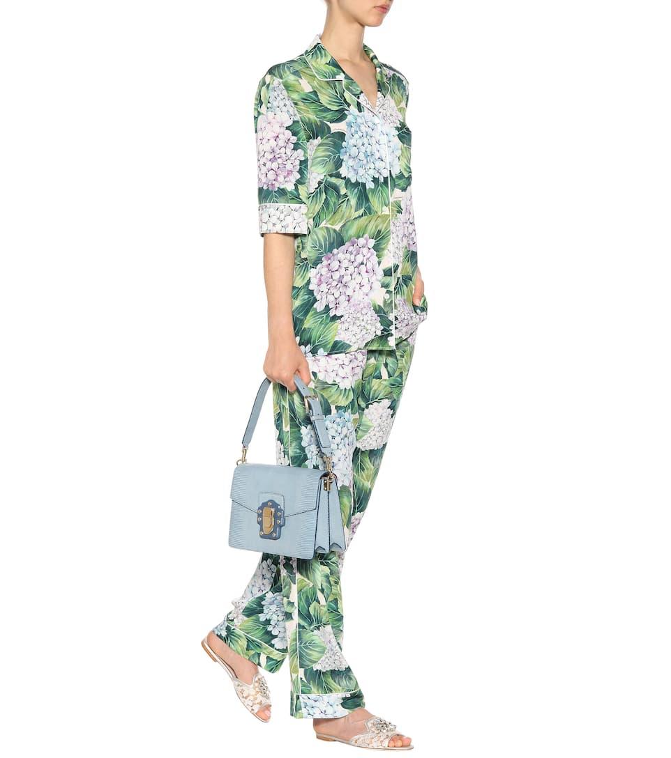 Dolce & Gabbana Schultertasche Lucia aus Leder