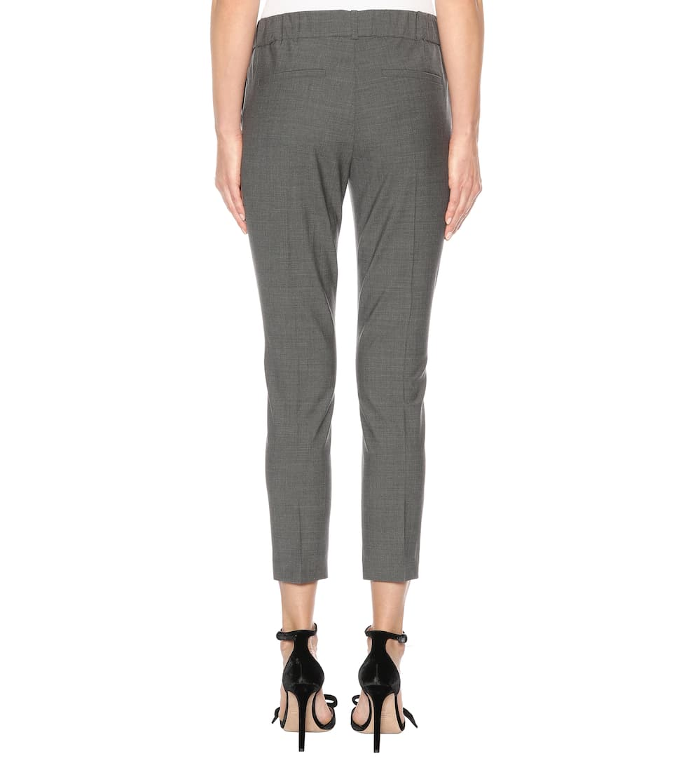 Brunello Cucinelli Cropped Hose mit Wollanteil