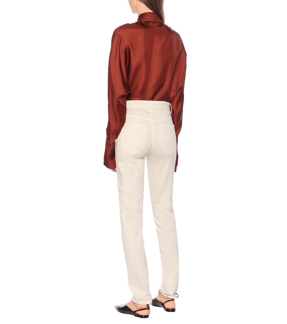 Khaite - Vanessa high-rise skinny jeans