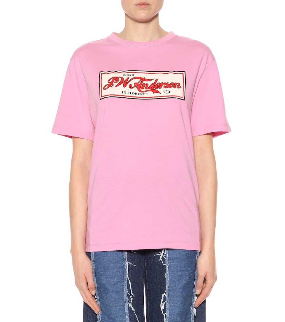 Spielraum Billig Echt Spielraum Günstig Online Echt JW Anderson T-Shirt Wear JWA in Florence aus Baumwolle Freies Verschiffen Preiswerte Reale Freies Verschiffen Kaufen j0K8RtC