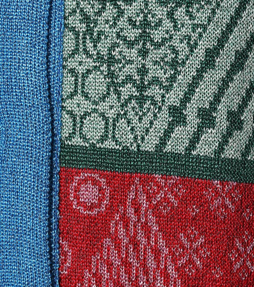 Mary Katrantzou - Robe en jacquard de laine Cecile
