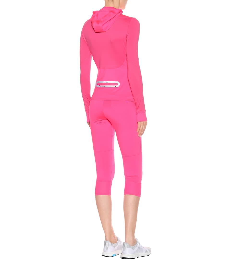Stella Adidas correr para McCartney Solar Pink Top de 5nzRZq