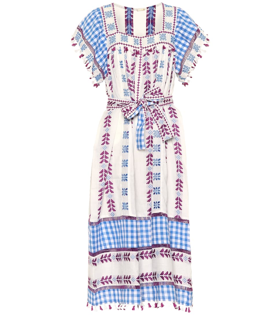 Dodo Bar Or - Embroidered cotton dress