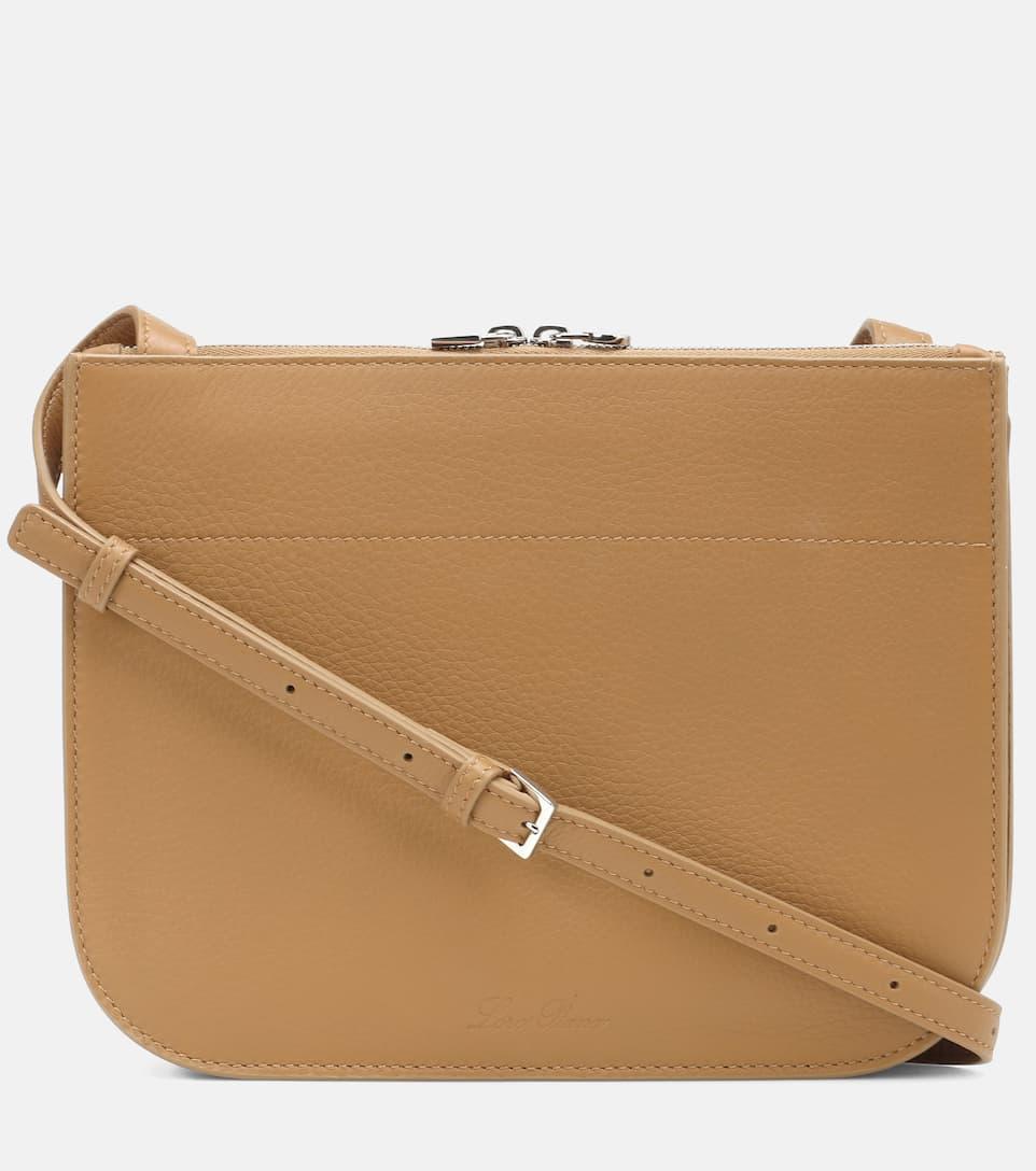 Leather Cross Body Bag Loro Piana