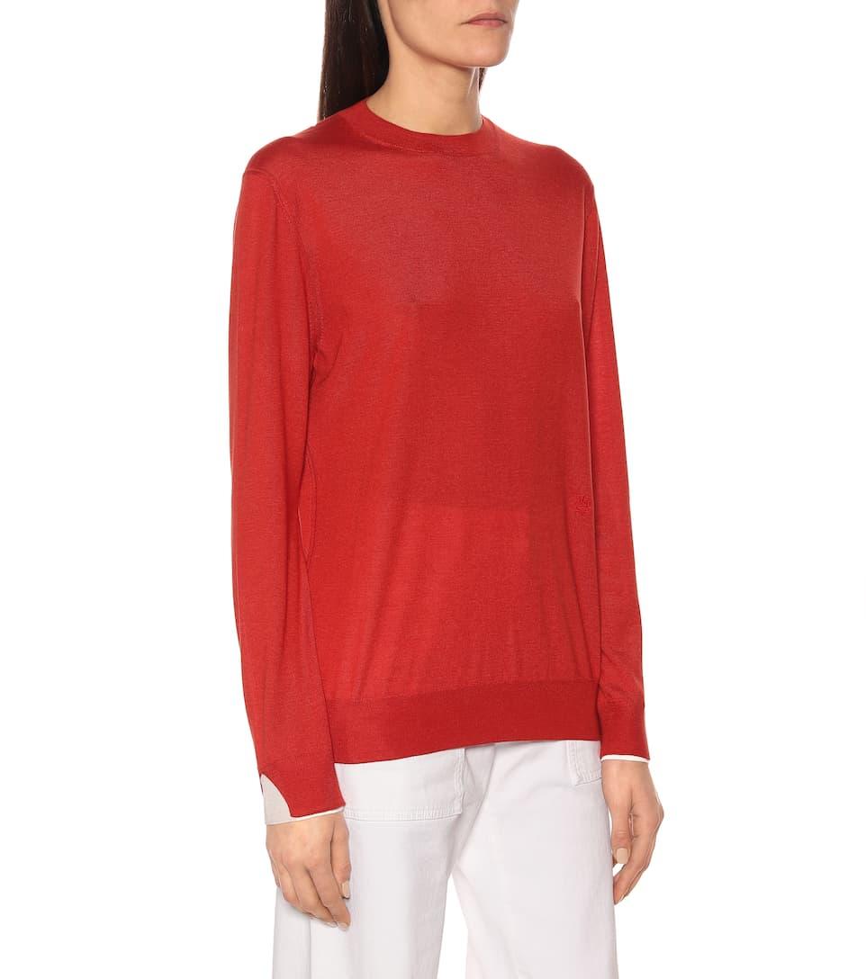 Loro Piana - Leyton cashmere and silk sweater