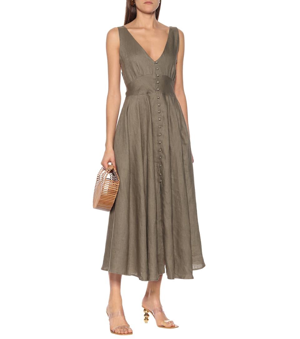 Cult Gaia - Angela linen midi dress