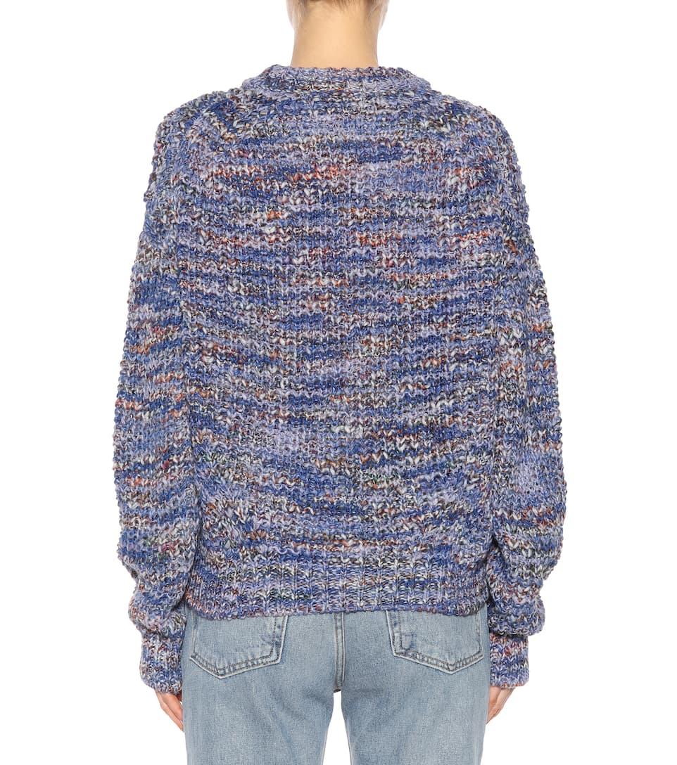 Studios mezcla azul lana mezcla Jersey de de Acora Zora aBwpX0q8