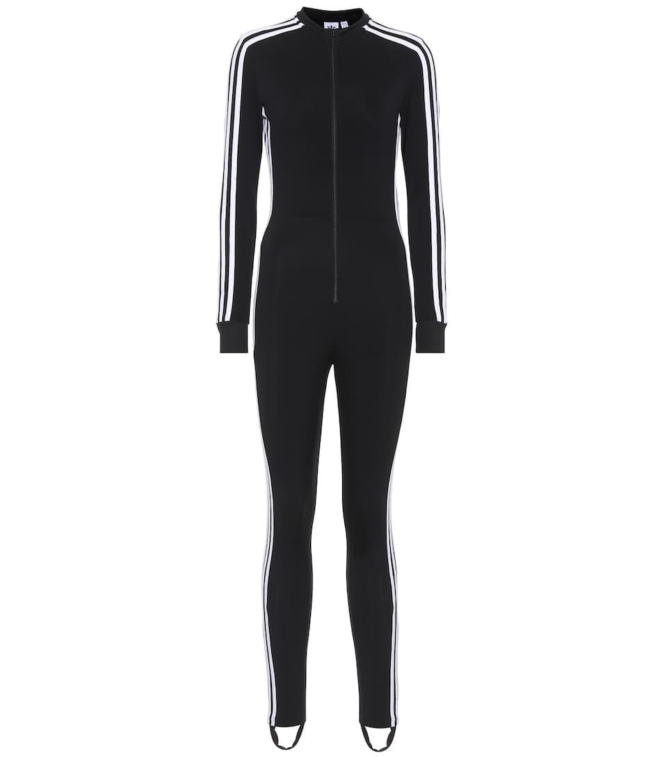 Adidas Originals Gestreifter Jumpsuit