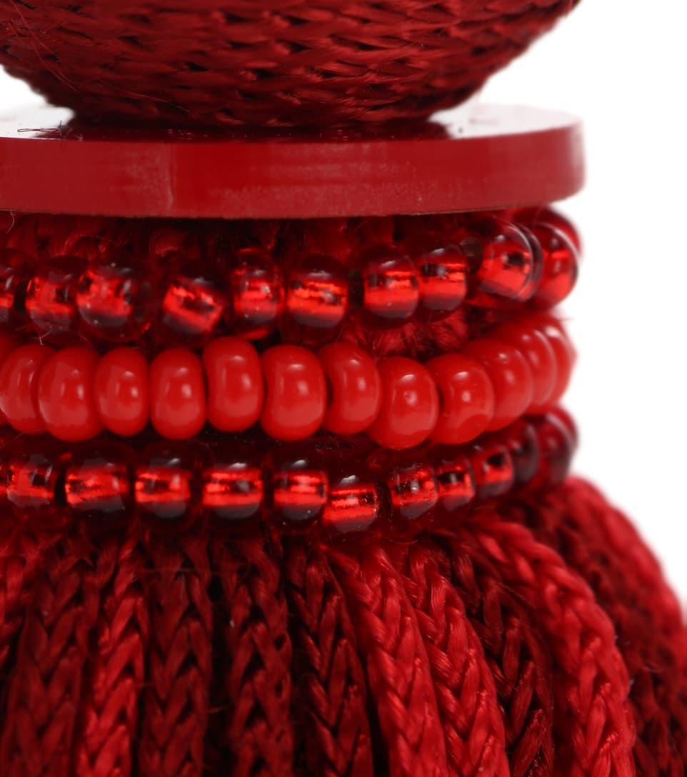 Tassel Clip-On Earrings confortable Grand Escompte Sortie Geniue Stockist Énorme Surprise Pas Cher En Ligne Achats En Ligne Prix Pas Cher jWTWSm