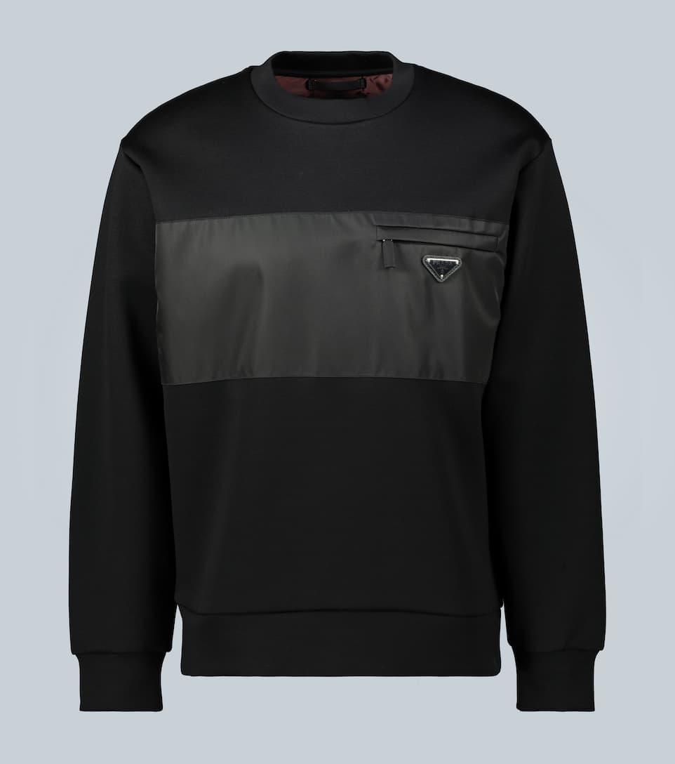 Women's SPORT Oversize Croc Cotton Blend Sweatshirt