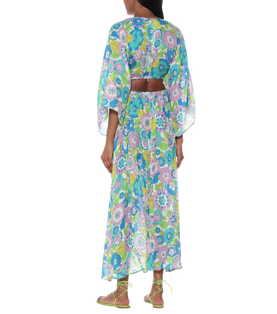 Floral Cotton Midi Dress | Dodo Bar Or - Mytheresa