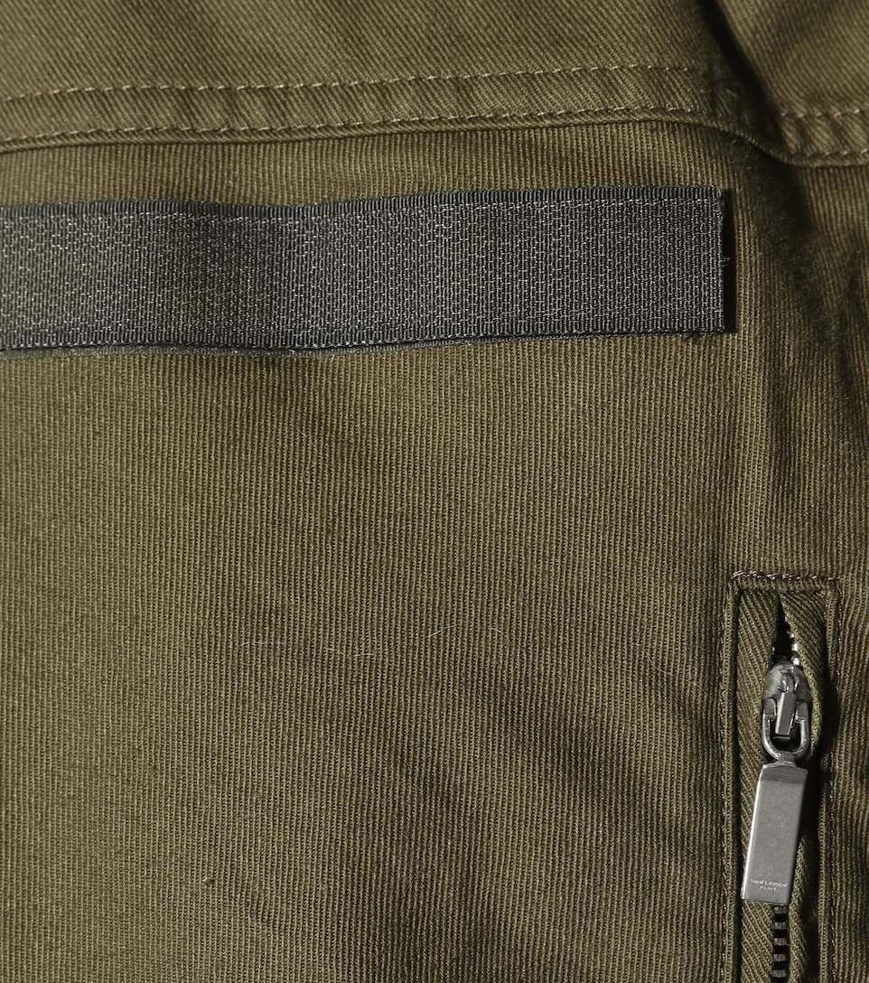 Saint Laurent Kleid aus einem Baumwollgemisch Günstig Kosten Freies Verschiffen Der Niedrige Preis Versandgebühr Billig Verkauf Geschäft Bilder P3r5BXp