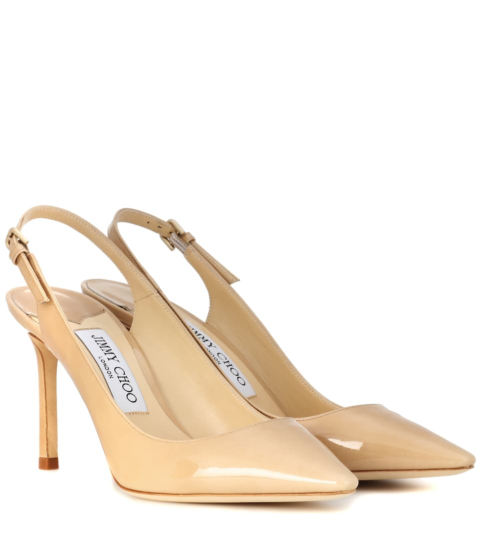 be3e3cd2ea3 Erin 85 Leather Slingback Pumps