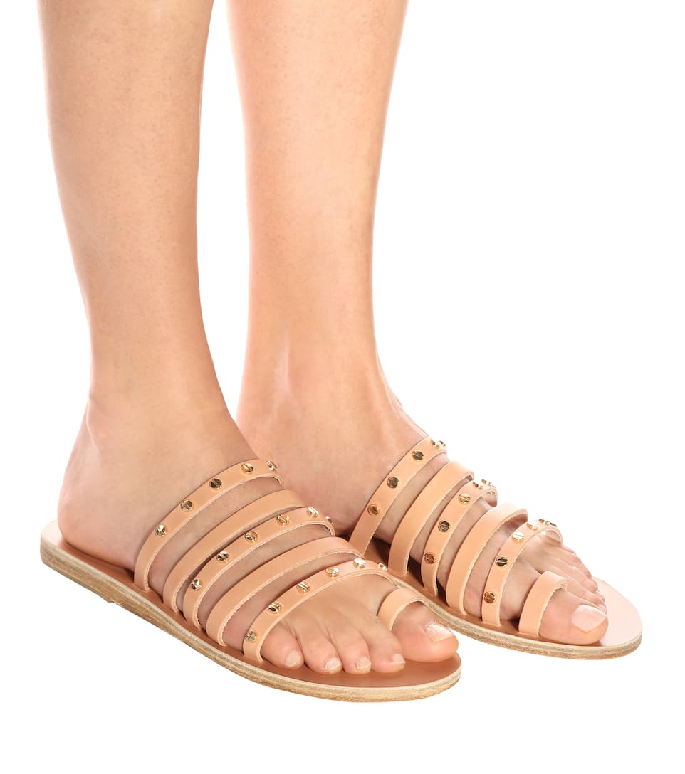 Ancient Greek Sandals Sandalen Niki Nails aus Leder