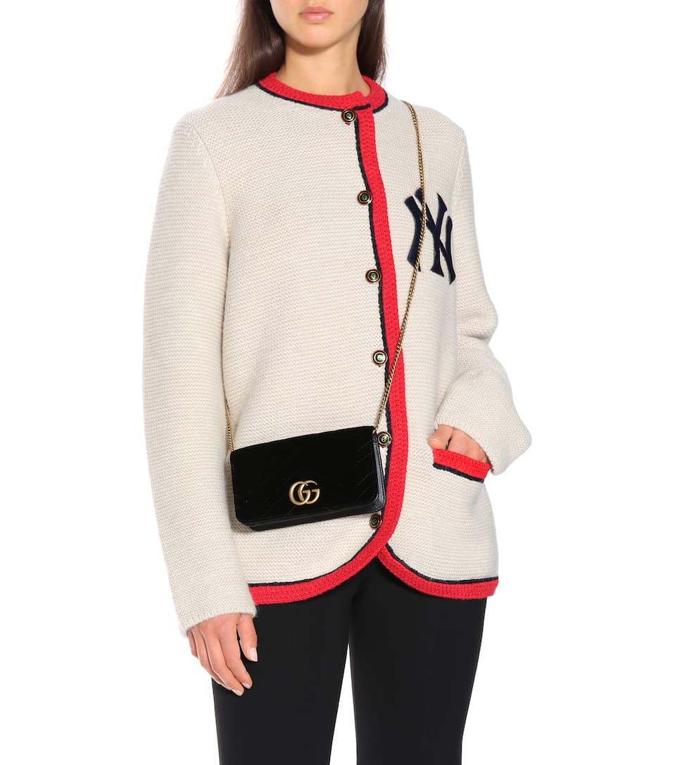 c10a8a6e623 Gg Marmont Super Mini Shoulder Bag - Gucci