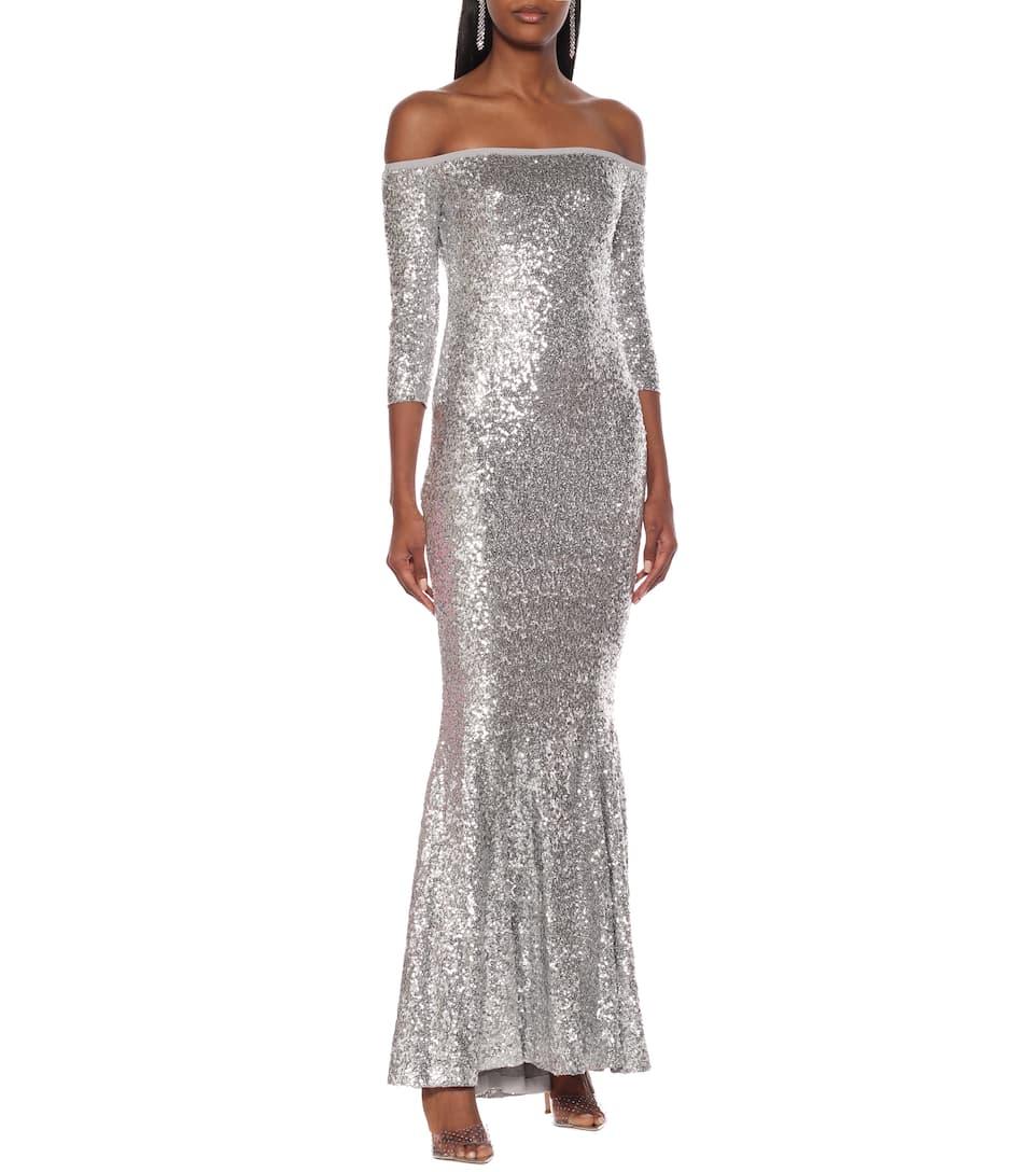 Sequined Mermaid Gown - Norma Kamali