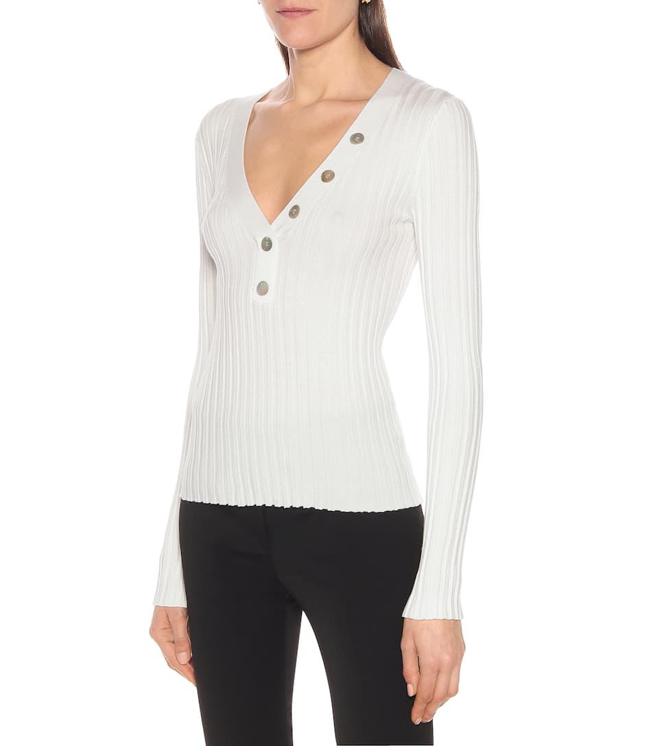 Veronica Beard - Juliana ribbed-knit sweater