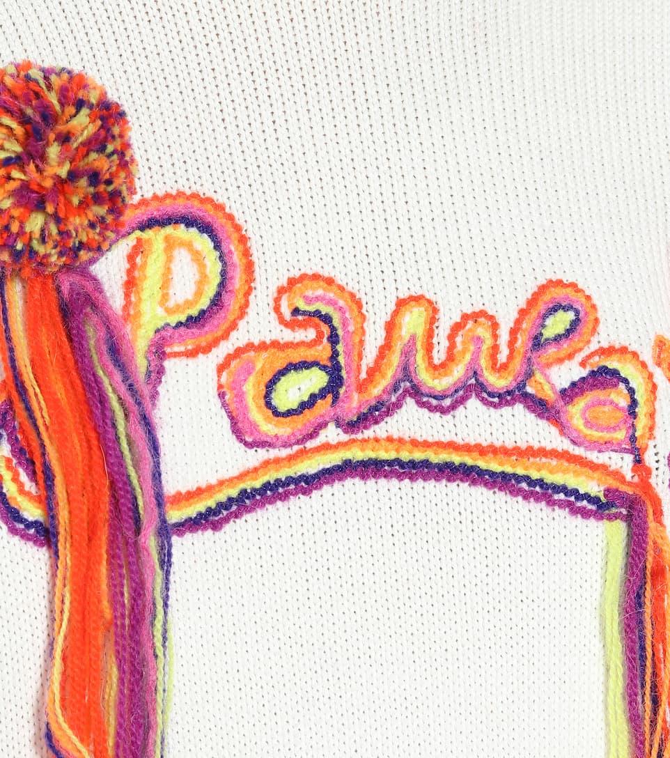 Loewe - Paula's Ibiza Embroidered Cotton-blend Sweater Big Discount