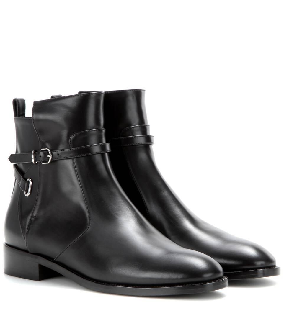 Balenciaga Papier leather ankle boots