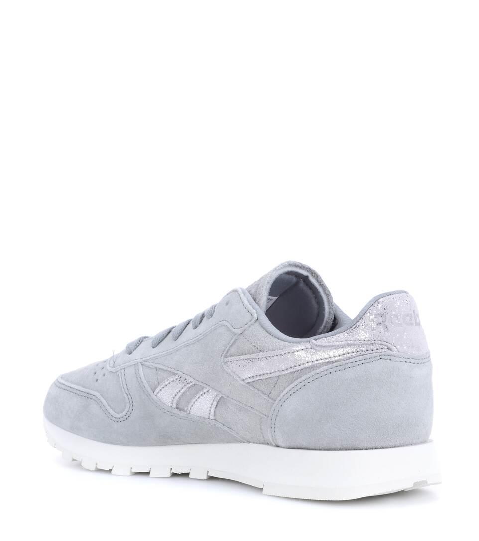 Leder aus Sneakers Reebok Sneakers Shimmer Classic Reebok xz7zUa