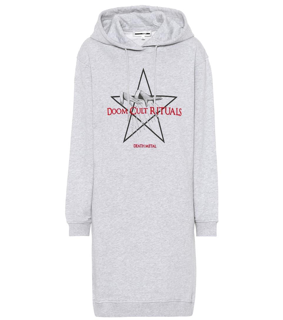 Doom Cult Rituals hoodie dress Alexander McQueen Clearance Manchester Great Sale 6WjRN