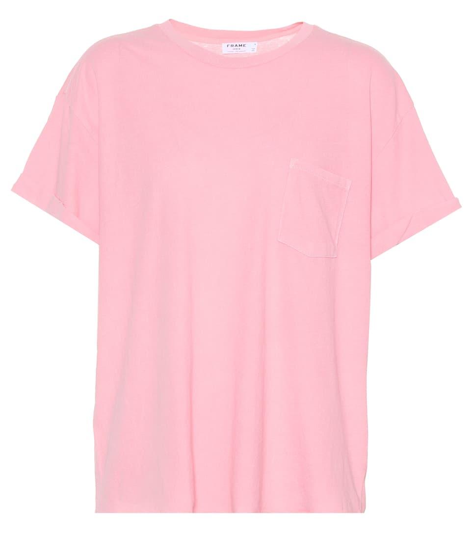 Frame T-Shirt aus Baumwolle