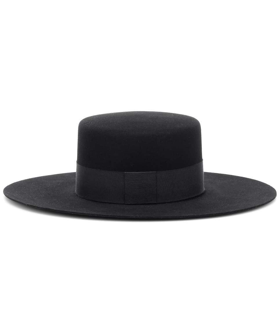 Felt Hat by Saint Laurent