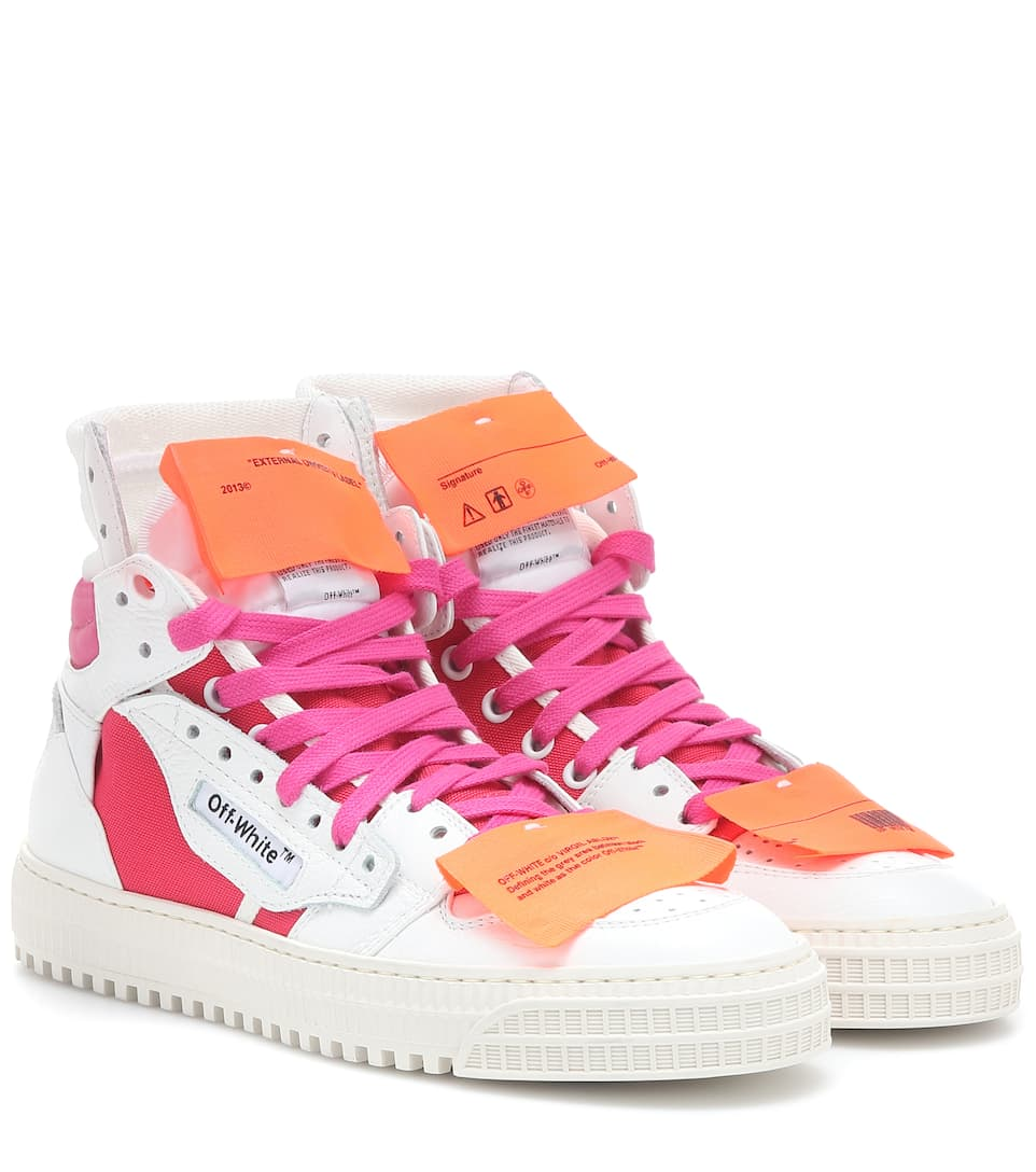 Esclusiva Per Mytheresa - Sneakers Off-Court 1 In Pelle - Off-White ... 45744f78c7f