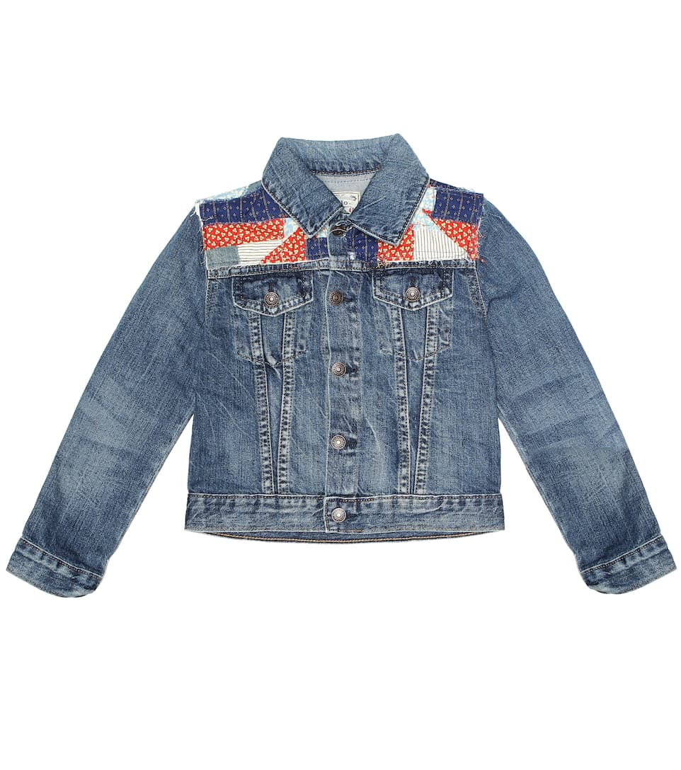 5c3bafa5 Patchwork Denim Jacket - Polo Ralph Lauren Kids | mytheresa