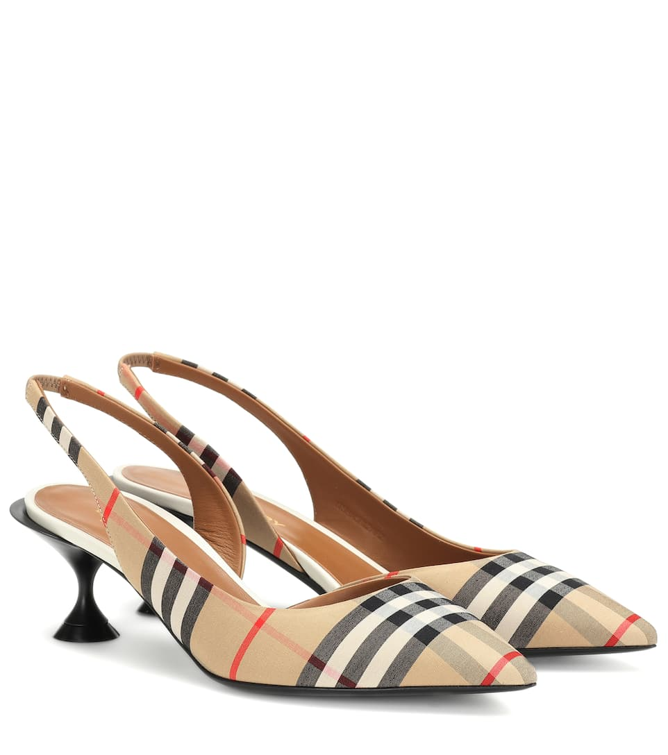 Pumps slingback Vintage Check