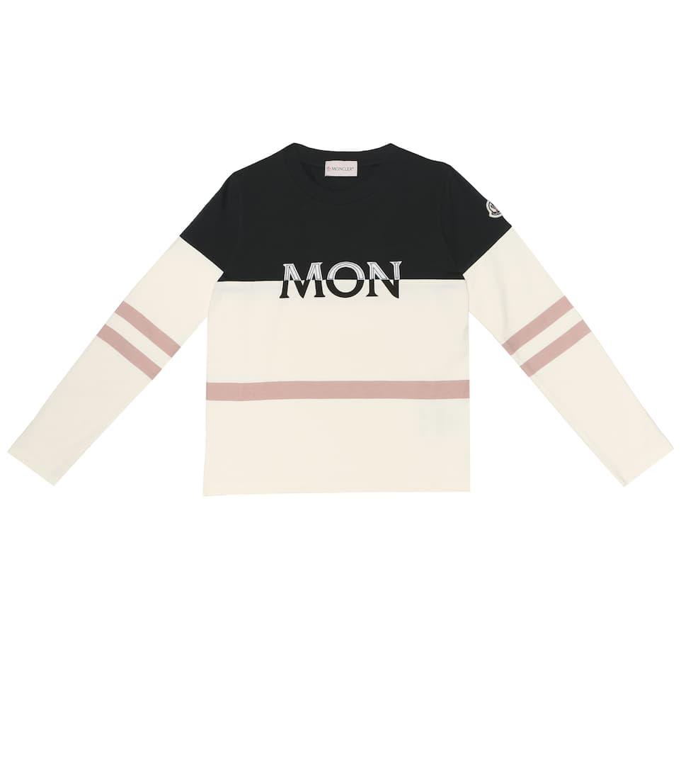5c5398e47 Moncler Enfant - Stretch-cotton top   Mytheresa